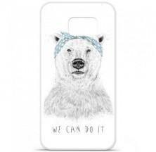 Coque en silicone Samsung Galaxy S6 - BS We can do it