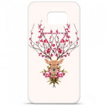 Coque en silicone Samsung Galaxy S6 - RF Spring deer