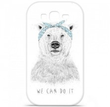Coque en silicone Samsung Galaxy Grand / Grand Plus - BS We can do it