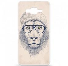 Coque en silicone Samsung Galaxy Grand Prime / Grand Prime VE - BS Cool Lion
