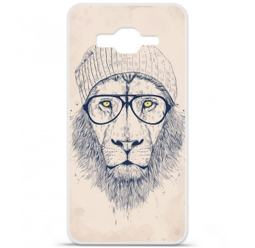Coque en silicone Samsung Galaxy Grand Prime / Grand Prime VE - BS Cool Lion