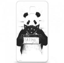 Coque en silicone Samsung Galaxy Note 4 - BS Bad Panda