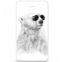 Coque en silicone Samsung Galaxy Note 4 - BS Sunny bear