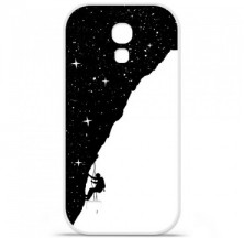 Coque en silicone Samsung Galaxy S4 Mini - BS Nightclimbing