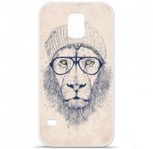 Coque en silicone Samsung Galaxy S5 - BS Cool Lion