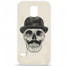 Coque en silicone Samsung Galaxy S5 - BS Class skull