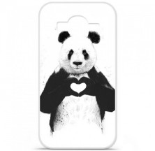 Coque en silicone Samsung Galaxy Core Prime / Core Prime VE - BS Love Panda