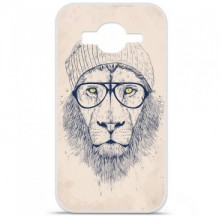 Coque en silicone Samsung Galaxy Core Prime / Core Prime VE - BS Cool Lion