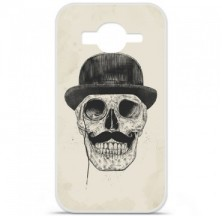Coque en silicone Samsung Galaxy Core Prime / Core Prime VE - BS Class skull