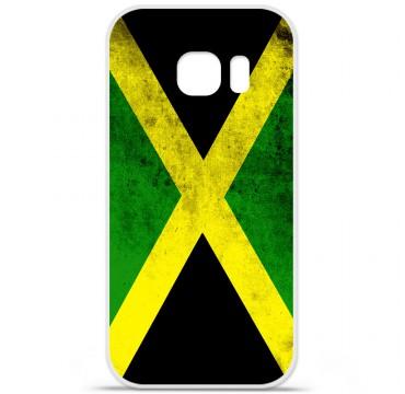 Coque silicone Samsung Galaxy S7 - Drapeau Jamaïque