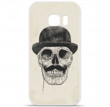 Coque en silicone Samsung Galaxy S6 Edge Plus - BS Class skull