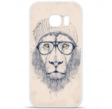 Coque en silicone Samsung Galaxy S6 Edge Plus - BS Cool Lion