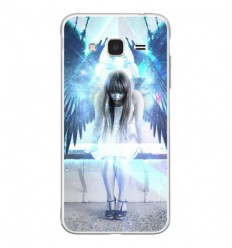 Coque en silicone Samsung Galaxy J3 2016 - Angel