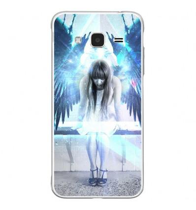 Coque en silicone Samsung Galaxy J3 2016 - Angel