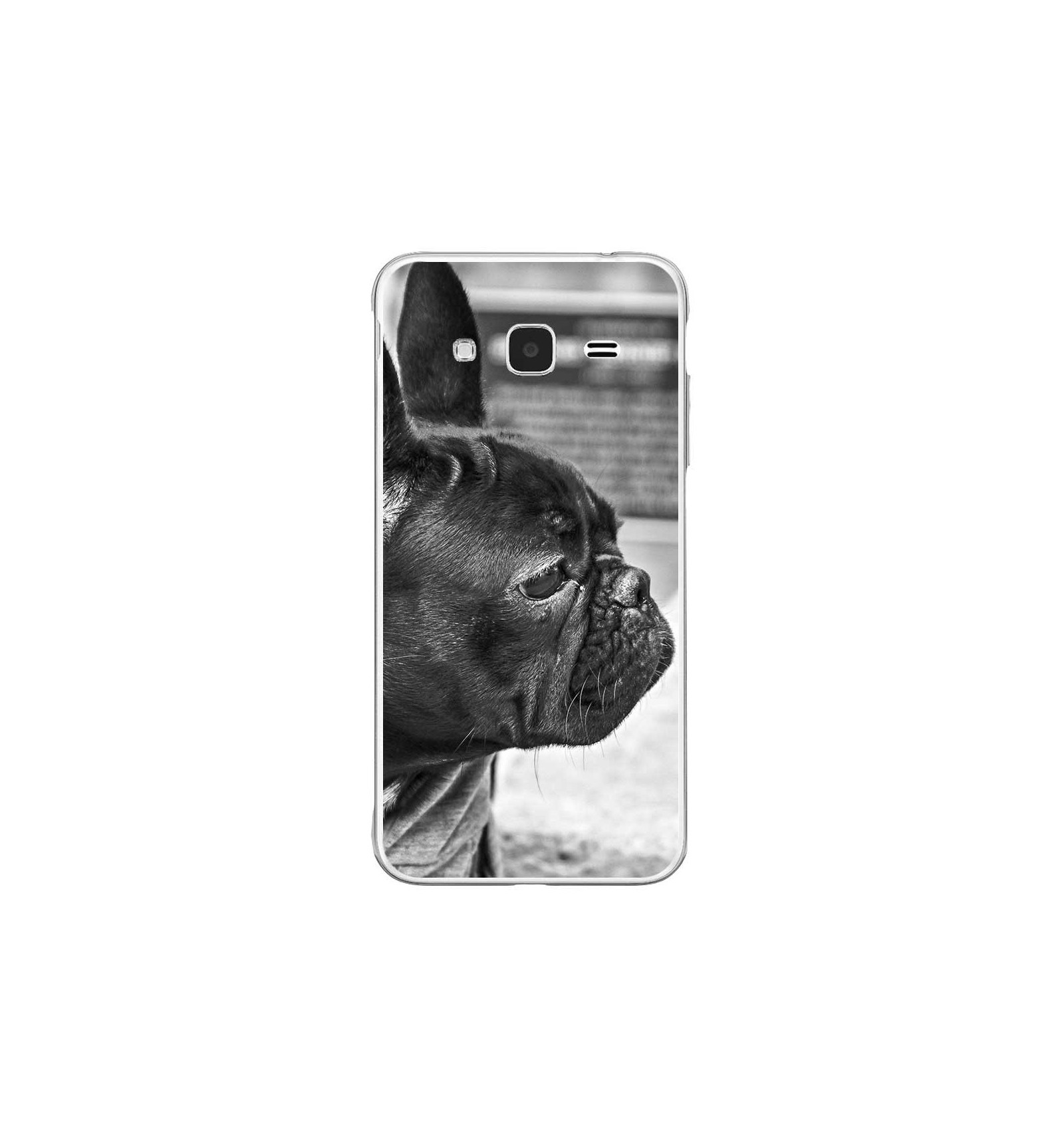 Coque En Silicone Samsung Galaxy J3 2016 Bulldog