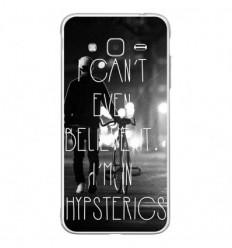 Coque en silicone Samsung Galaxy J3 2016 - Hipsterics