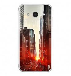 Coque en silicone Samsung Galaxy J3 2016 - Sunny side