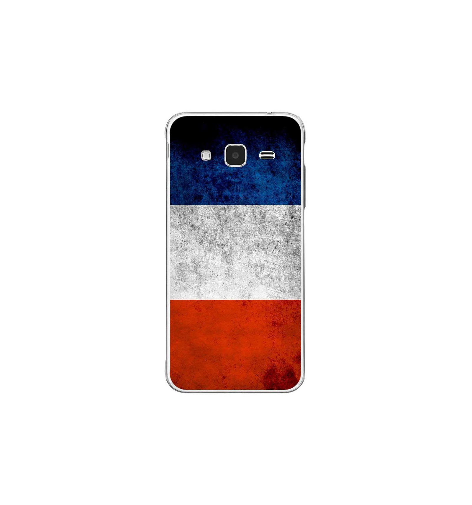 coque en silicone samsung galaxy j3 2016 drapeau france. Black Bedroom Furniture Sets. Home Design Ideas