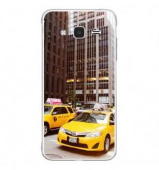Coque en silicone Samsung Galaxy J3 2016 - NY Taxi