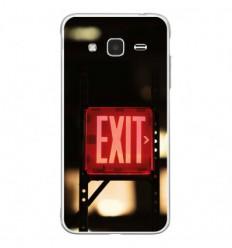 Coque en silicone Samsung Galaxy J3 2016 - Exit