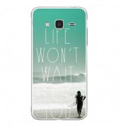 Coque en silicone Samsung Galaxy J3 2016 - Surfer