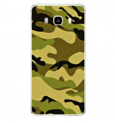 Coque en silicone Samsung Galaxy J5 2016 - Camouflage