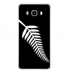 Coque en silicone Samsung Galaxy J5 2016 - Drapeau All-black