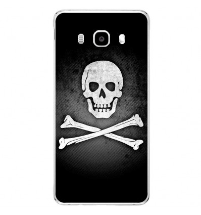 Coque en silicone Samsung Galaxy J5 2016 - Drapeau Pirate