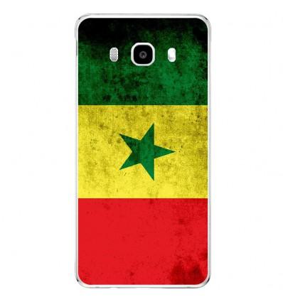 Coque en silicone Samsung Galaxy J5 2016 - Drapeau Sénégal