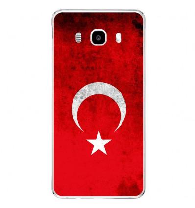 Coque en silicone Samsung Galaxy J5 2016 - Drapeau Turquie