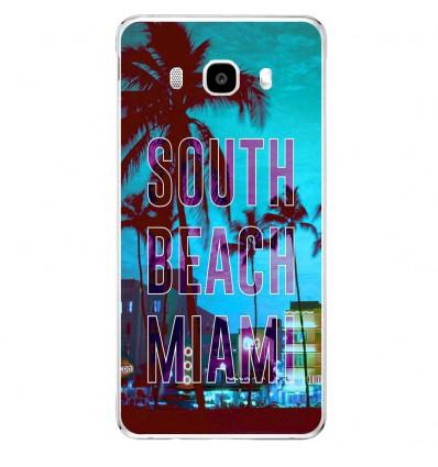 Coque en silicone Samsung Galaxy J5 2016 - South beach miami