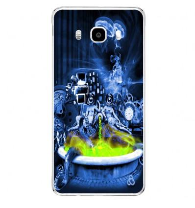 Coque en silicone Samsung Galaxy J5 2016 - Fontaine