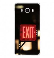 Coque en silicone Samsung Galaxy J5 2016 - Exit