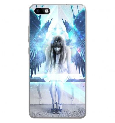 Coque en silicone Wiko Lenny 3 - Angel