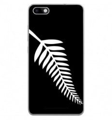 Coque en silicone Wiko Lenny 3 - Drapeau All-black