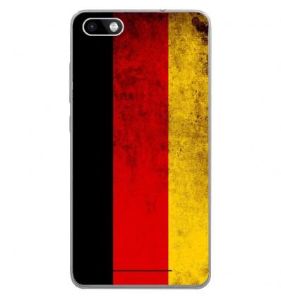 Coque en silicone Wiko Lenny 3 - Drapeau Allemagne