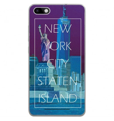 Coque en silicone Wiko Lenny 3 - New york