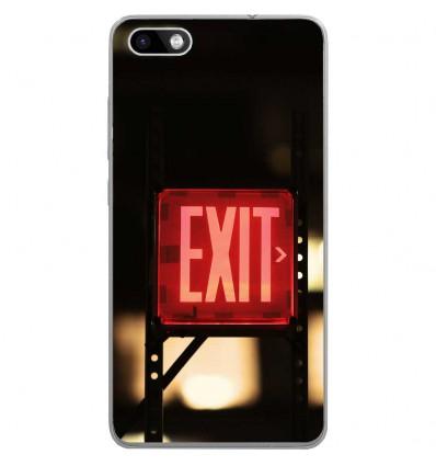 Coque en silicone Wiko Lenny 3 - Exit