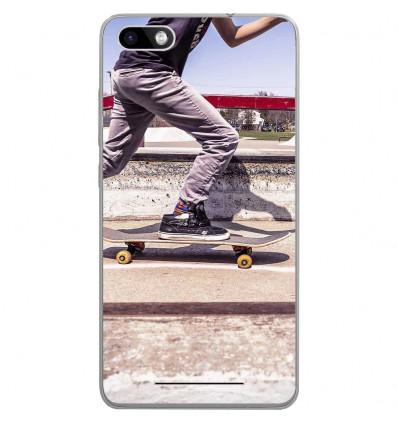 Coque en silicone Wiko Lenny 3 - Skate