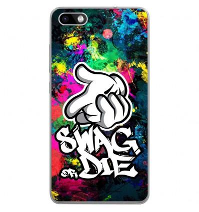 Coque en silicone Wiko Lenny 3 - Swag or die
