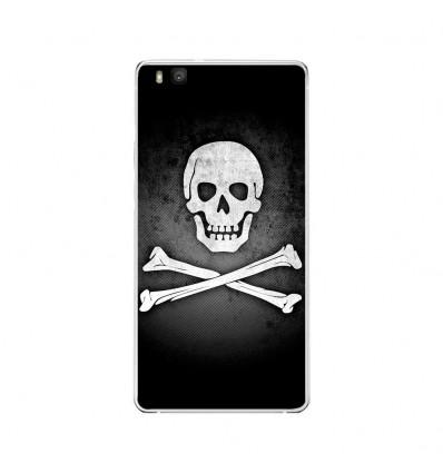 Coque en silicone Huawei P9 Lite - Drapeau Pirate