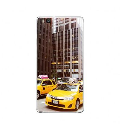 Coque en silicone Huawei P9 Lite - NY Taxi