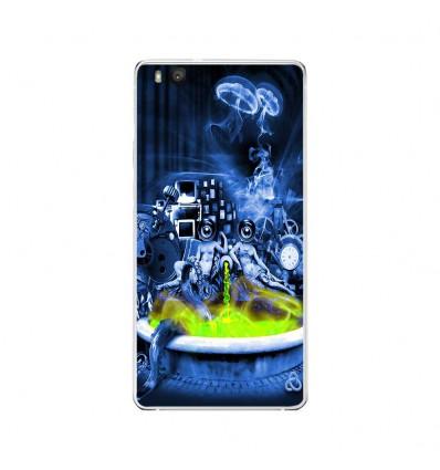 Coque en silicone Huawei P9 Lite - Fontaine