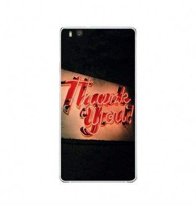 Coque en silicone Huawei P9 Lite - Thank You