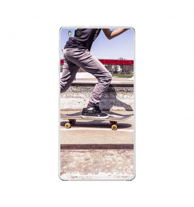 Coque en silicone Huawei P9 Lite - Skate