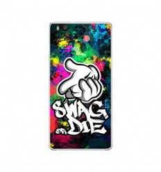 Coque en silicone Huawei P9 Lite - Swag or die