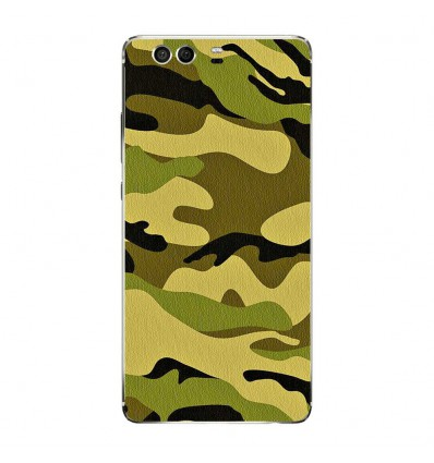 Coque en silicone Huawei P9 - Camouflage