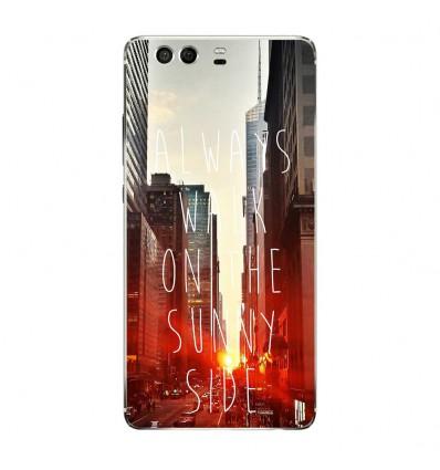 Coque en silicone Huawei P9 - Sunny side