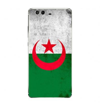 Coque en silicone Huawei P9 - Drapeau Algérie