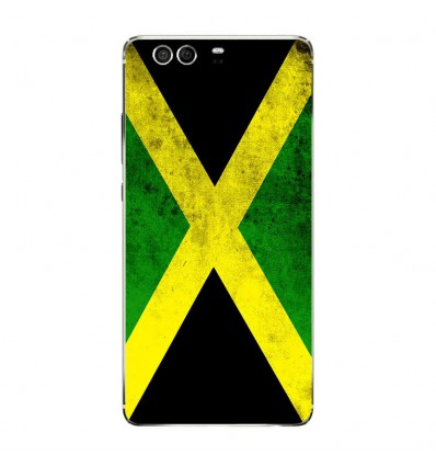 Coque en silicone Huawei P9 - Drapeau Jamaïque
